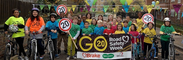 Brake road safety children